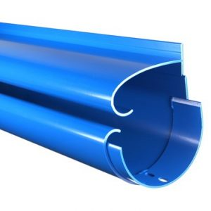 Aluminium Slip Gutter System suitable for domestic and commercial use