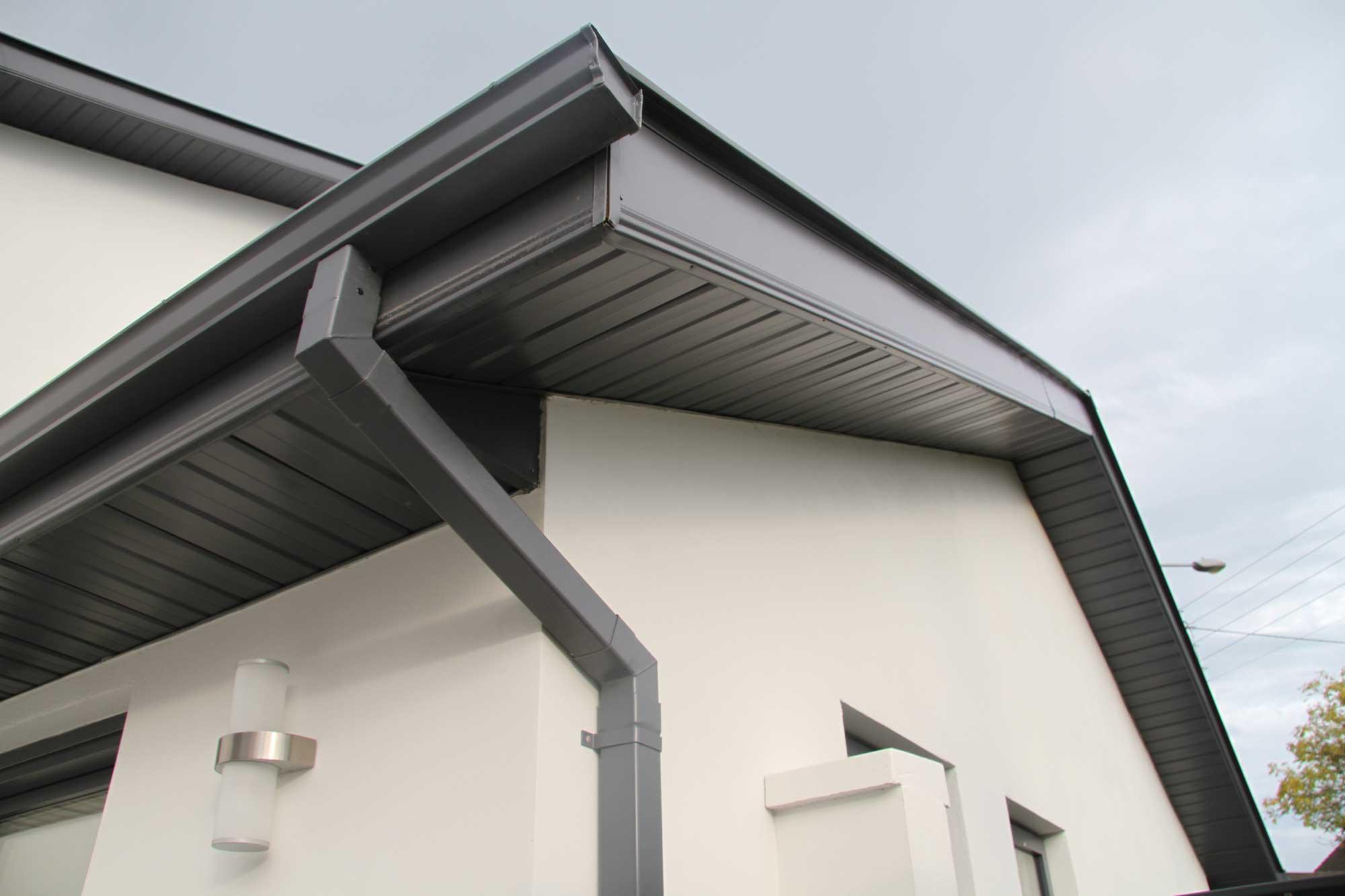 Aluminium Fascia Amp Soffit Systems Seamless Aluminium Uk